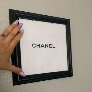 CHANEL WALL ART , hand made custom 🧿